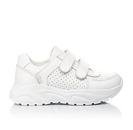 Детские кроссовки Woopy Fashion белые для девочек натуральная кожа размер 31-39 (5140) Фото 4