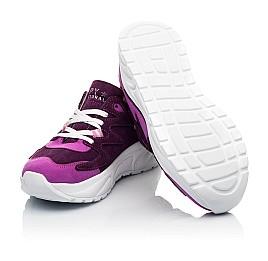 Детские кроссовки Woopy Fashion фиолетовые для девочек натуральный нубук и замша размер 33-39 (5149) Фото 2