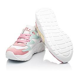 Детские кроссовки Woopy Fashion разноцветные для девочек натуральный нубук и кожа размер 31-37 (5150) Фото 2