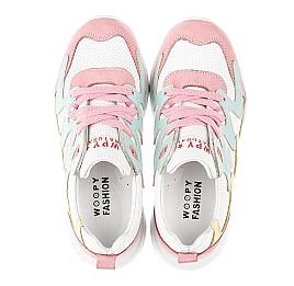 Детские кроссовки Woopy Fashion разноцветные для девочек натуральный нубук и кожа размер 31-37 (5150) Фото 5