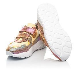 Детские кроссовки Woopy Fashion разноцветные для девочек натуральная кожа, нубук размер 26-37 (5151) Фото 2