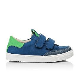 Детские кеды Woopy Fashion синие для мальчиков натуральный нубук размер 24-35 (5157) Фото 4