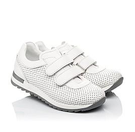 Детские кроссовки Woopy Fashion белые для девочек натуральная кожа размер 29-37 (5159) Фото 1