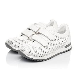 Детские кроссовки Woopy Fashion белые для девочек натуральная кожа размер 29-37 (5159) Фото 3
