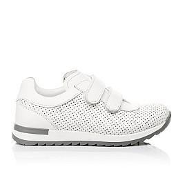 Детские кроссовки Woopy Fashion белые для девочек натуральная кожа размер 29-37 (5159) Фото 4