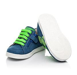 Детские  Woopy Fashion синие для мальчиков натуральный нубук размер 18-30 (5161) Фото 2