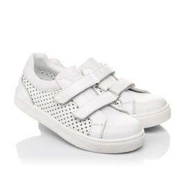 Детские  Woopy Fashion белые для девочек натуральная кожа размер 24-35 (5168) Фото 1