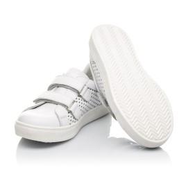 Детские кеды Woopy Fashion белые для девочек натуральная кожа размер 24-35 (5168) Фото 2