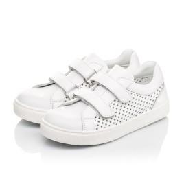 Детские  Woopy Fashion белые для девочек натуральная кожа размер 24-35 (5168) Фото 3