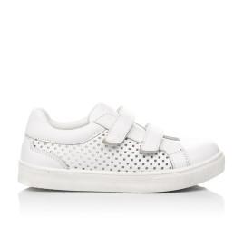 Детские  Woopy Fashion белые для девочек натуральная кожа размер 24-35 (5168) Фото 4
