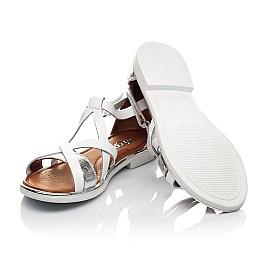 Детские босоножки Woopy Fashion белые для девочек натуральная кожа размер 31-33 (5172) Фото 2