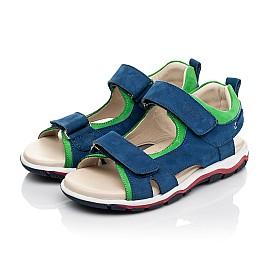 Детские босоножки Woopy Fashion синие для мальчиков натуральный нубук размер 27-38 (5173) Фото 3
