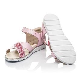 Детские босоножки Woopy Fashion розовые для девочек натуральная кожа размер 24-33 (5176) Фото 2