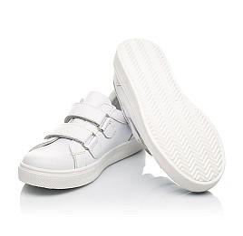 Детские  Woopy Orthopedic белые для девочек натуральная кожа размер 29-39 (5177) Фото 2