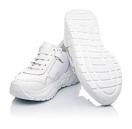 Детские кроссовки Woopy Orthopedic белые для девочек натуральная кожа размер 34-39 (5181) Фото 2