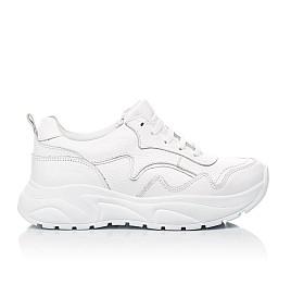 Детские кроссовки Woopy Orthopedic белые для девочек натуральная кожа размер 34-39 (5181) Фото 4