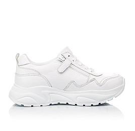 Детские кроссовки Woopy Orthopedic белые для девочек натуральная кожа размер 34-39 (5181) Фото 5
