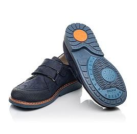 Детские туфли Woopy Orthopedic синие для мальчиков натуральный нубук размер 30-34 (5184) Фото 2