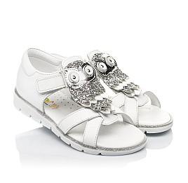 Детские босоножки Woopy Fashion белые для девочек натуральная кожа размер 21-30 (5186) Фото 1
