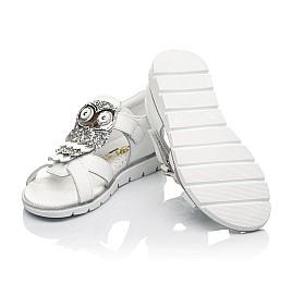 Детские босоножки Woopy Fashion белые для девочек натуральная кожа размер 21-30 (5186) Фото 2