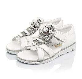 Детские босоножки Woopy Fashion белые для девочек натуральная кожа размер 21-30 (5186) Фото 3