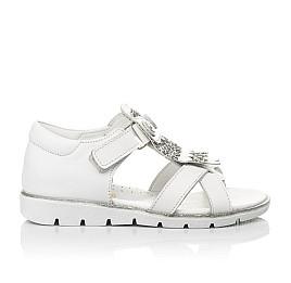 Детские босоножки Woopy Fashion белые для девочек натуральная кожа размер 21-30 (5186) Фото 4