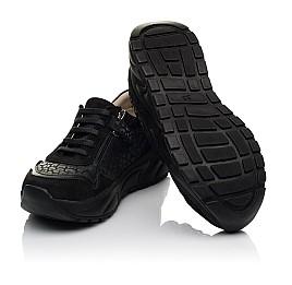 Детские кроссовки Woopy Fashion черные для девочек натуральный нубук размер 30-31 (5189) Фото 2