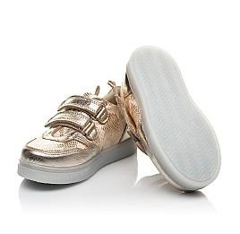 Детские  Woopy Orthopedic золотые для девочек натуральная кожа, искусственный материал  размер 21-24 (5191) Фото 2