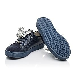 Детские  Woopy Fashion синие для девочек натуральный замша и кожа размер 30-39 (5194) Фото 2