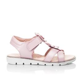 Детские босоножки Woopy Fashion розовые для девочек натуральная кожа размер 31-33 (5200) Фото 4
