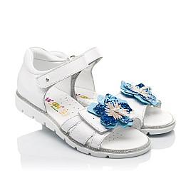 Детские босоножки Woopy Fashion белые для девочек натуральная кожа размер 21-36 (5201) Фото 1