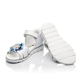 Детские босоножки Woopy Fashion белые для девочек натуральная кожа размер 21-36 (5201) Фото 2