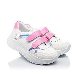 Детские  Woopy Fashion белые для девочек натуральная кожа размер 26-39 (5203) Фото 1