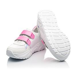 Детские  Woopy Fashion белые для девочек натуральная кожа размер 26-39 (5203) Фото 2