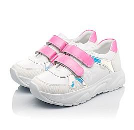 Детские  Woopy Fashion белые для девочек натуральная кожа размер 26-39 (5203) Фото 3