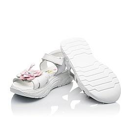 Детские босоножки Woopy Fashion белые для девочек натуральная кожа размер 26-34 (5204) Фото 2