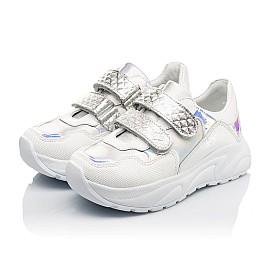 Детские  Woopy Fashion белые для девочек натуральная кожа размер 26-39 (5208) Фото 3