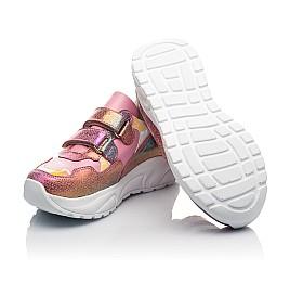 Детские  Woopy Fashion розовые для девочек натуральная кожа и нубук размер 24-36 (5209) Фото 2