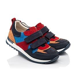 Детские кроссовки Woopy Fashion разноцветные для мальчиков натуральный нубук и замша размер 29-38 (5215) Фото 1