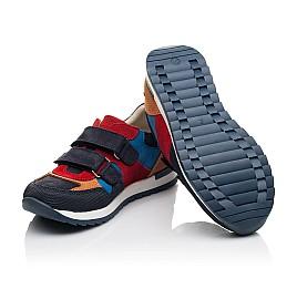 Детские кроссовки Woopy Fashion разноцветные для мальчиков натуральный нубук и замша размер 29-38 (5215) Фото 2