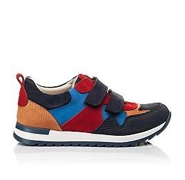 Детские кроссовки Woopy Fashion разноцветные для мальчиков натуральный нубук и замша размер 29-38 (5215) Фото 4