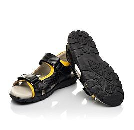 Детские босоножки Woopy Fashion черный для мальчиков натуральная кожа размер 30-39 (5233) Фото 2
