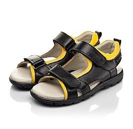Детские босоножки Woopy Fashion черный для мальчиков натуральная кожа размер 30-39 (5233) Фото 3