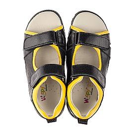Детские босоножки Woopy Fashion черный для мальчиков натуральная кожа размер 30-39 (5233) Фото 5