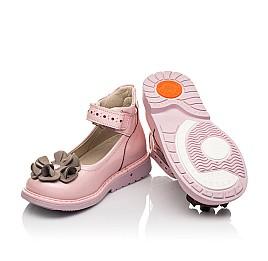 Детские туфли Woopy Orthopedic розовые для девочек натуральная лаковая кожа размер 25-33 (7014) Фото 2