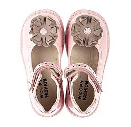 Детские туфли Woopy Orthopedic розовые для девочек натуральная лаковая кожа размер 25-33 (7014) Фото 5