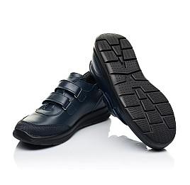Детские кроссовки Woopy Fashion синие для мальчиков натуральная кожа размер 35-35 (7056) Фото 2