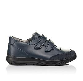 Детские кроссовки Woopy Fashion синие для мальчиков натуральная кожа размер 35-35 (7056) Фото 4