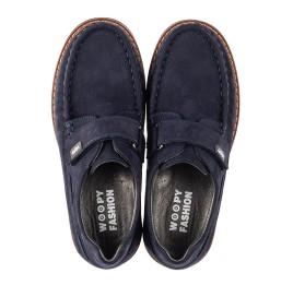 Детские туфли Woopy Fashion синие для мальчиков натуральный нубук размер 26-38 (7060) Фото 5