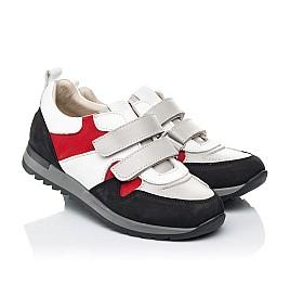 Детские кроссовки Woopy Fashion разноцветные для мальчиков натуральные кожа и нубук размер 26-37 (7063) Фото 1